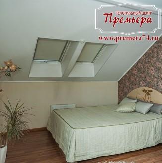 Текстильное оформление спальни в монохромных тонах