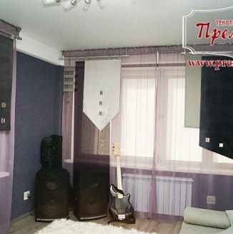 Японские шторы для комнаты подростка