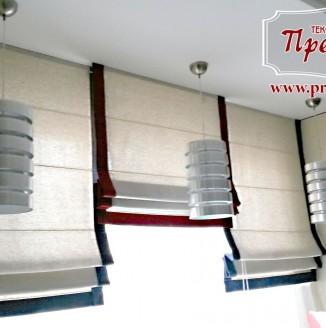 Римские шторы для кабинета подростка