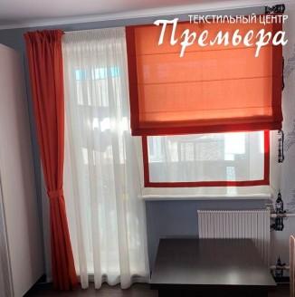 Яркие шторы для спальни