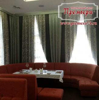 Дизайн гостевой зоны в кафе