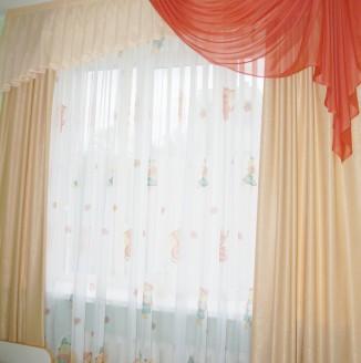 Современные шторы в спальню