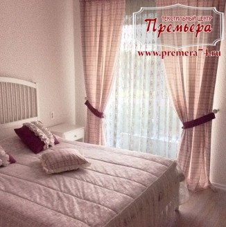 Белая оттеночная спальня