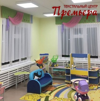 Вариант №7 оформления группы детского сада
