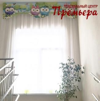 Текстильное оформление лестниц детского сада