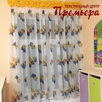 Текстильное оформление раздевалок детского сада