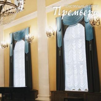 Текстильное оформление фойе Театра оперы и балета имени М. И. Глинки
