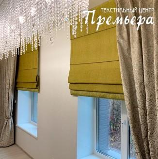 Бархатные шторы в коридор