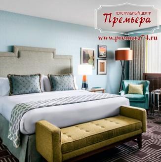 Текстильное оформление квартирного отеля