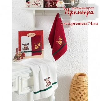 Комплект полотенец 30х50 Karna V4