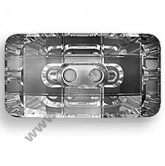 3093 ММ 21х11 Кристальная пуговица Swarovski