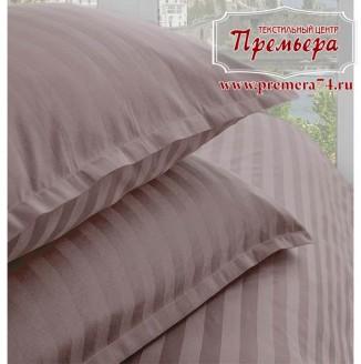 Наволочка 70х70 Розовый закат (полоса)