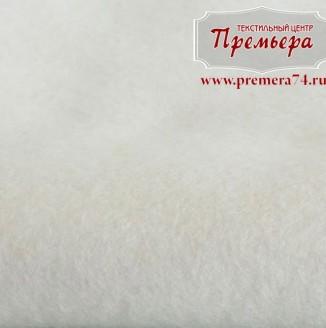 Фетр листовой 1мм, 660 белый, 100%п/э
