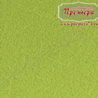 Фетр листовой 1мм, 674 салатовый, 100%п/э