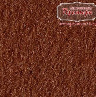 Фетр листовой 1мм, 690 коричневый, 100%п/э