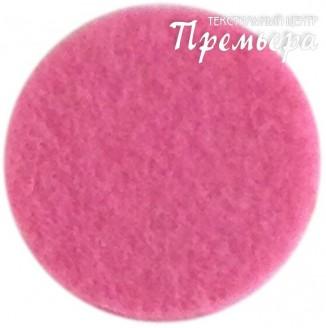 Фетр листовой 1мм, 614 розовый, 100%п/э