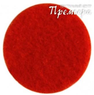 Фетр листовой 1мм, 602 красный, 100%п/э
