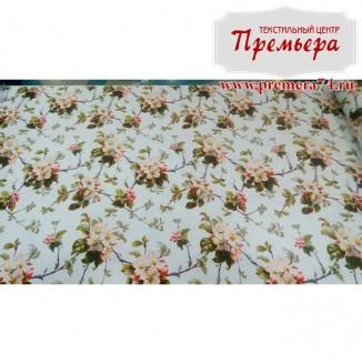 Скатерочная ткань Рогожка Сакура