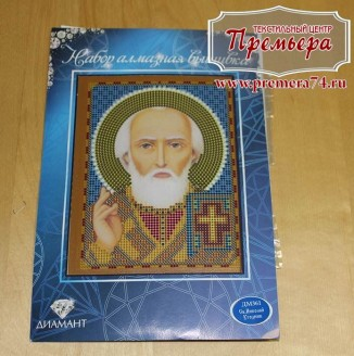 Икона из страз Св. Николай Угодник ДМ-324