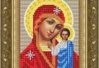 Икона из страз Пресвятая Богородица Казанская, ДМ-335