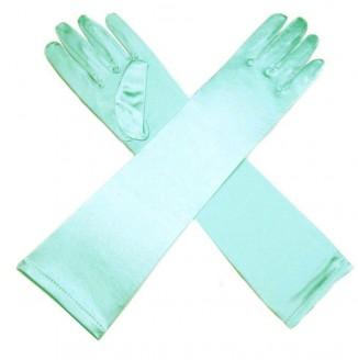 Перчатки атласные длинные