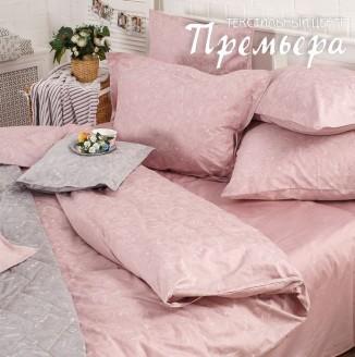КПБ ЕВРО Жемчужно-розовый (Paisley)