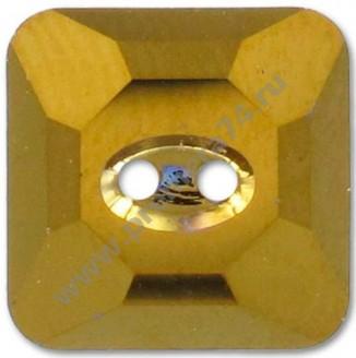 3017 ММ 10 Кристальная пуговица Swarovski