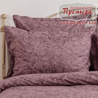 Наволочка 50х70 Розовый закат (Paisley)