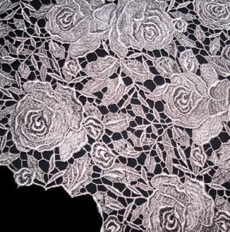Кружево крученое Розы