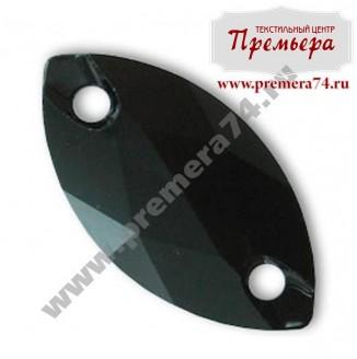 3223 ММ 12x6 Нашивные кристаллы Swarowski