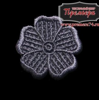 Цветок пришивной
