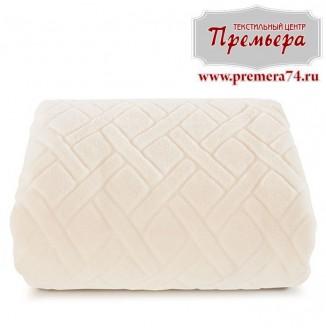 Плед 140х200 Белый Шоколад