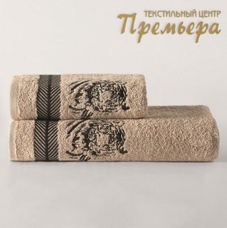 Комплект полотенец Karna Tiger (50х90-70х140)