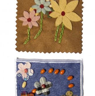 """Нашивка \""""цветы Ассорти\"""""""